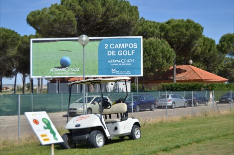 Jugar al golf en valladolid. Aldeamayor Golf, Campo de Golf en valladolid