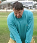 profesional de golf Armando Martin