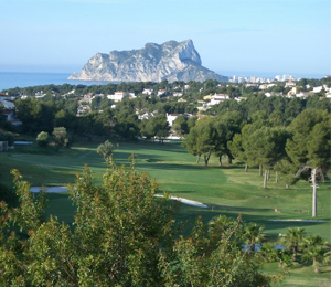 Club de Golf Ifach, Campo de Golf en Alicante/Alacant - Comunidad Valenciana