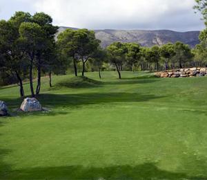 Club de Golf Sierra Cortina Finestrat, Campo de Golf en Alicante/Alacant - Comunidad Valenciana