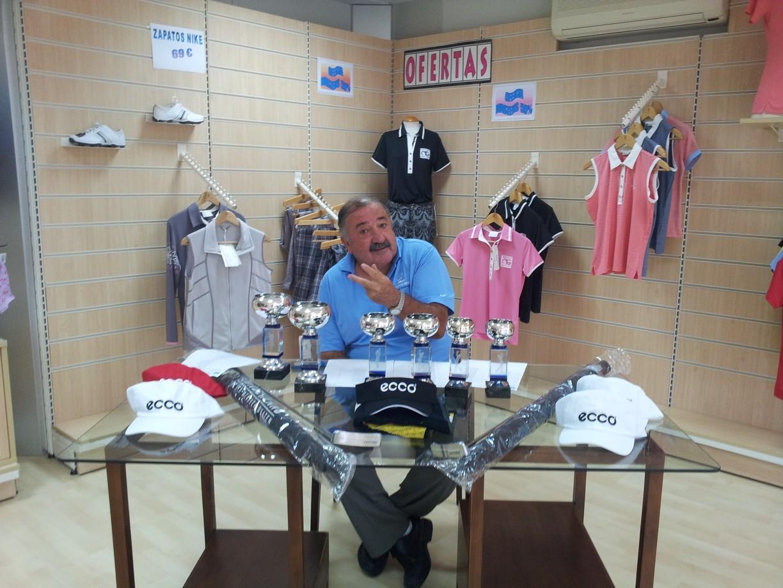 Lorenzo Gil Ortega Responsable ProShop en Doña Julia Club de Golf, Campo de Golf en Casares.