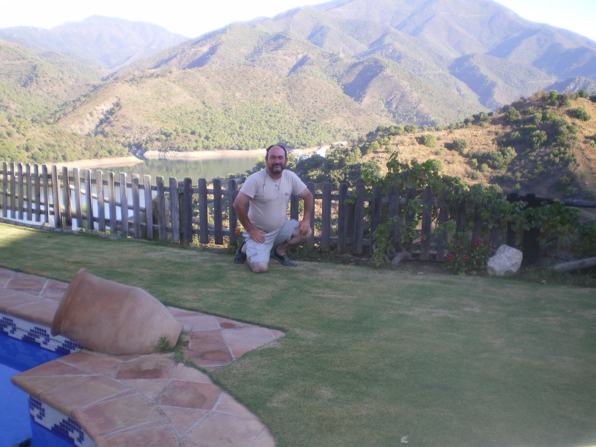 Juan Villalba Head Greenkeeper en Doña Julia Club de Golf, Campo de Golf en Casares.