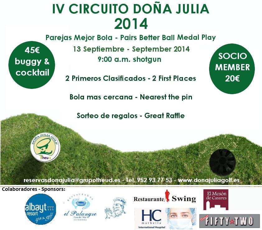 8ª Prueba del IV Circuito Doña Julia