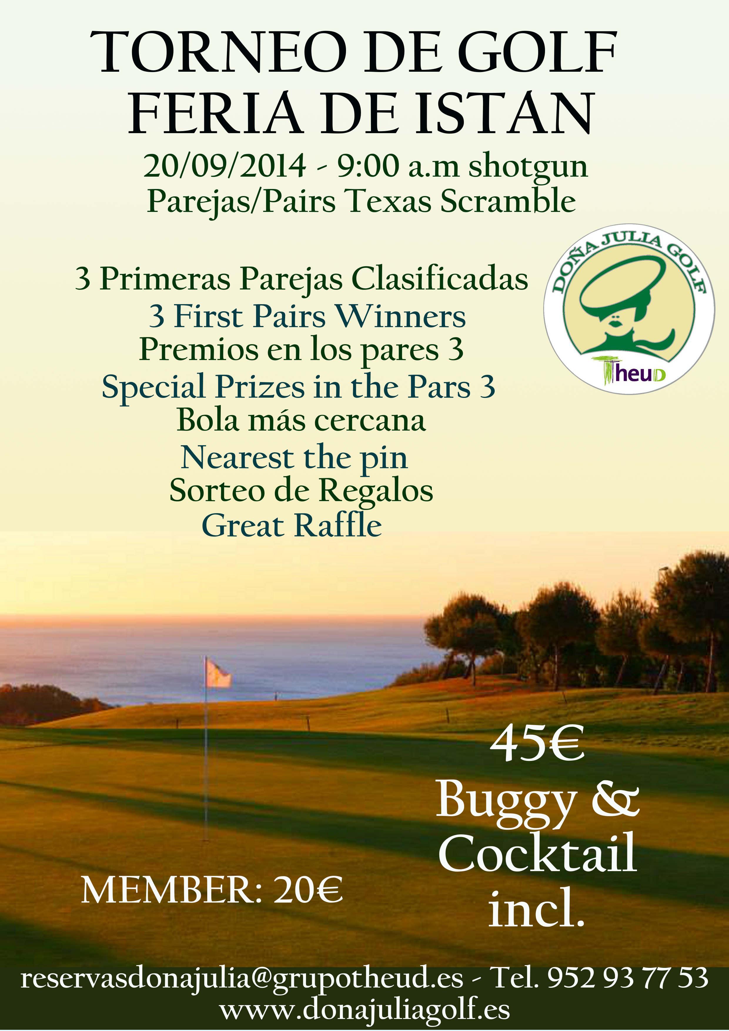Torneo de Golf Feria de Istán