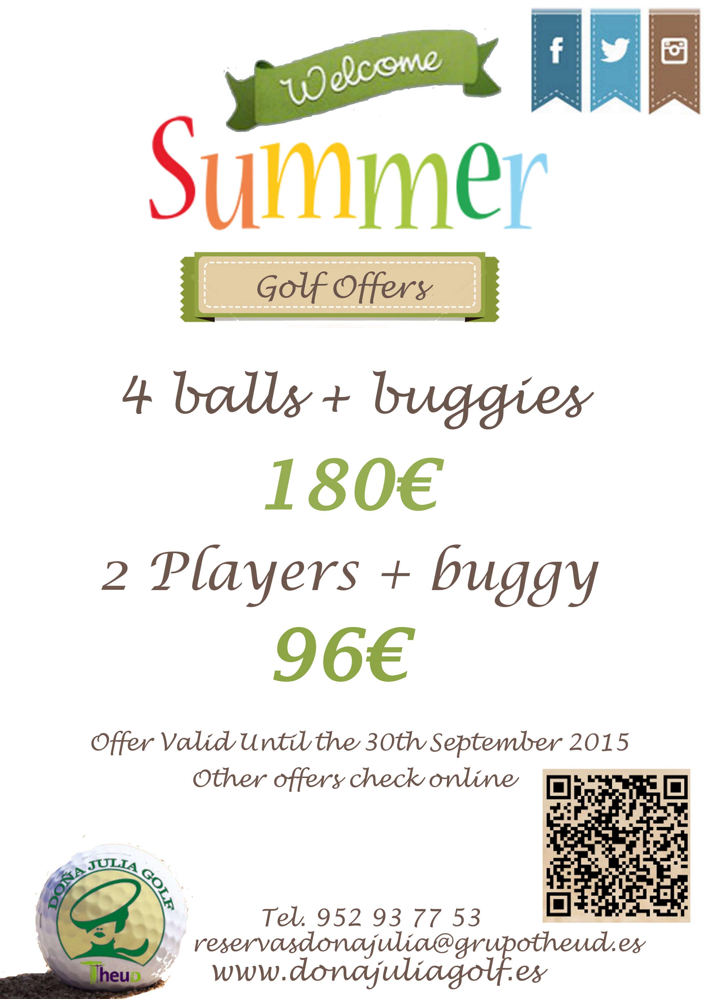 El verano llegó a Doña Julia Golf