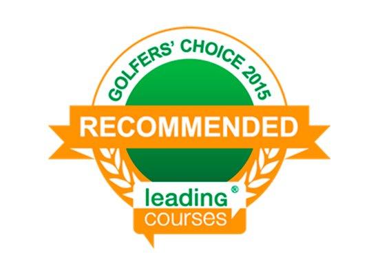 """Leadingcourses.com brinda a Doña Julia Golf con el certificado de """"Recommended"""" para el 2015"""