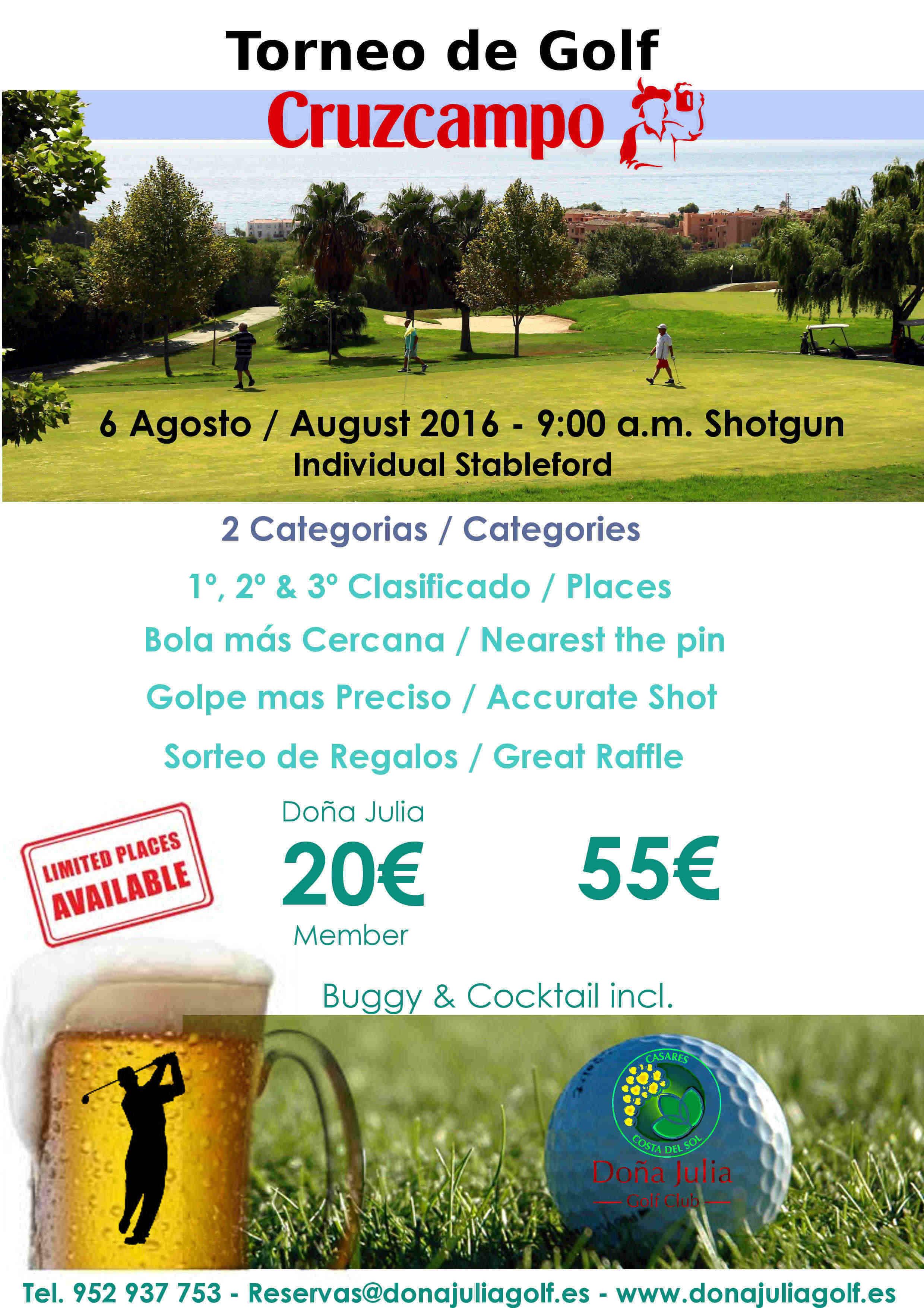 Torneo de Golf Cruzcampo