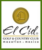 campo de golf Slice in Paradise en El Cid Golf & Country Club