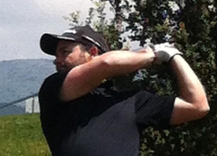 profesional de golf Fernando Gómez
