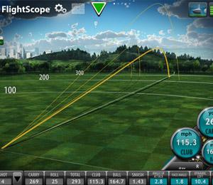 Clases de golf FlightScope en Foressos Golf Academy, Academia de Golf en Valencia - Comunidad Valenciana