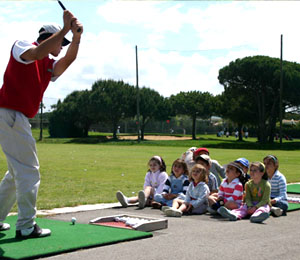 Cursos de golf Cursos Infantiles en Academia de Golf Novo Sancti Petri , Academia de Golf en Cádiz - Andalucía