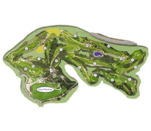 Jugar al golf en Rubi. Golf Sant Joan, Campo de Golf en Rubi