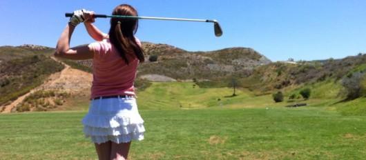Golf y Belleza, Golfista Aficionado en  -