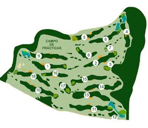 Las Pinaillas Golf , Campo de Golf en  -