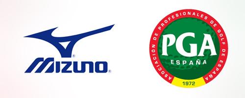 MIZUNO, nuevo colaborador de la PGA de España
