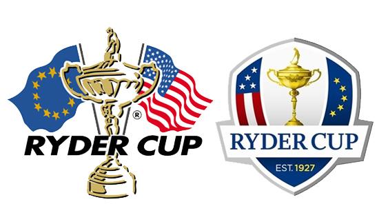 Logo de la Ryder Cup antiguo y nuevo