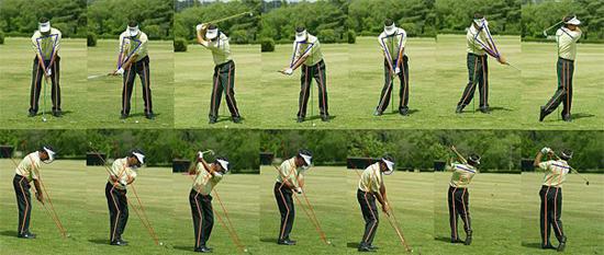 swing de golf es más sencillo de lo que pensamos
