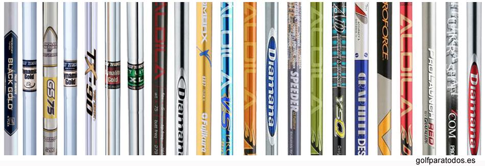 6983da9007975 Varillas de golf de acero y grafito todas las clases y marcas - golf para  todos el punto de encuentro del golf